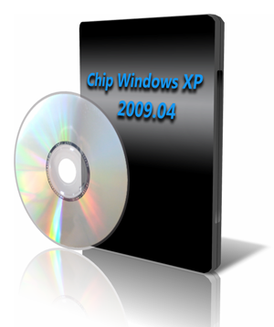Chip Windows XP 2009.04 DVD