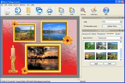 AMS Software Photo Collage Creator 3.87