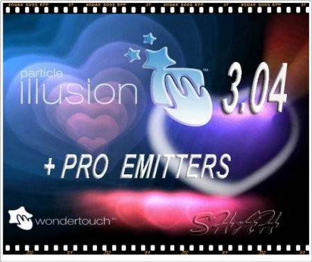 Wondertouch Particle Illusion 3.04.1 & Pro Emmiter Libraries  Portable by vv07