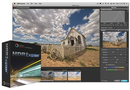 HDR Express 1.2.0 Build 9364