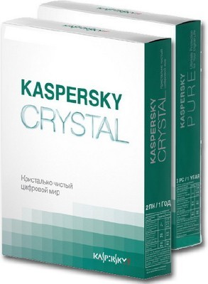 Kaspersky PURE R2 & CRYSTAL Pack