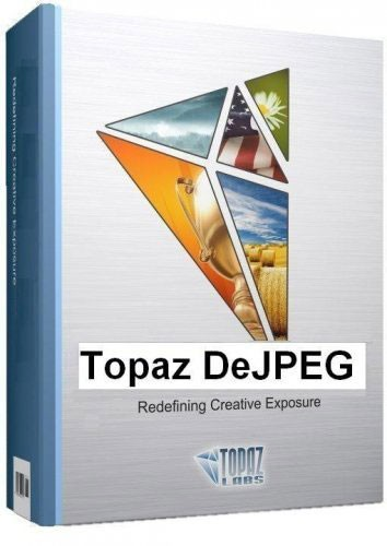 Topaz DeJPEG for Adobe Photoshop 4.0.2