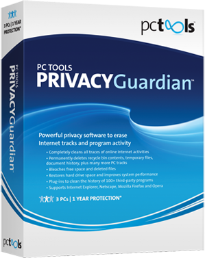PC Tools Privacy Guardian 4.5.0.138