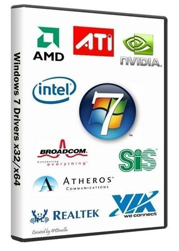 Windows 7 Drivers x32/x64 (10.06.2012)