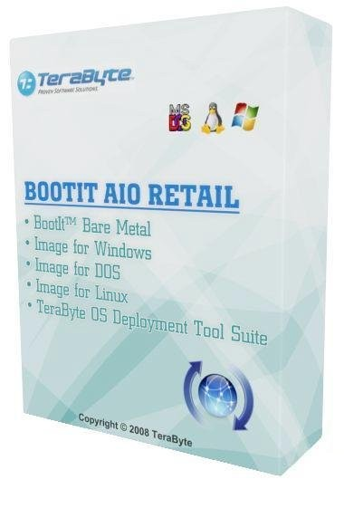 BootIt AIO Retail (BootIt� Bare Metal 1.04b, Image for Windows/Linux/DOS 2.65b)