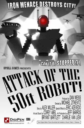 Attack of the 50ft Robot