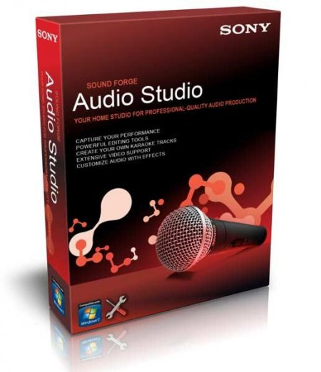 Sony Sound Forge Audio Studio 10.0 Build 245