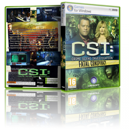 CSI: Fatal Conspiracy [RePack] [Ubisoft Entertainment] [ENG] [2010]