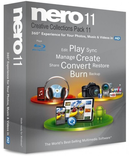 Nero 11.0.15800 + Creative Collections Pack 11 Repack