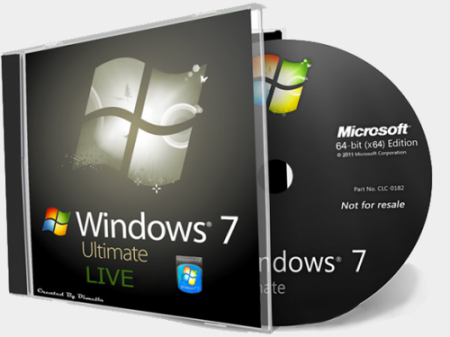 Windows 7 Ultimate Live Disk x64