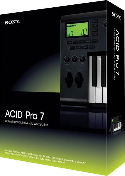 Sony ACID Pro 7.0e Build 713 + Rus
