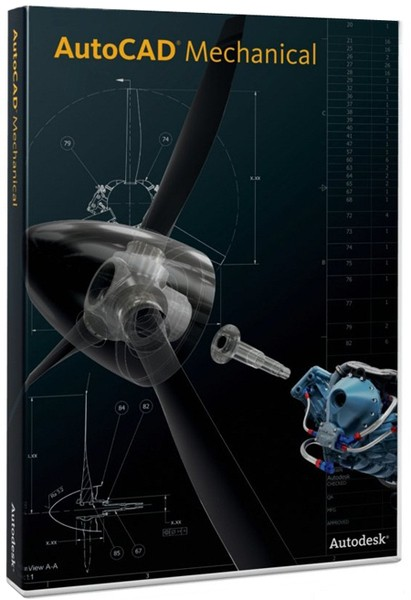 Autodesk AutoCAD Mechanical 2013 SP1 By m0nkrus