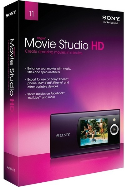 Vegas Movie Studio HD 11.0.75