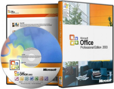 Microsoft Office Professional 2003 SP3 (14.04.2013)