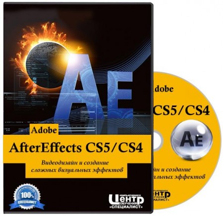 Adobe AfterEffects CS5/CS4. Видеодизайн и создание сложных визуальных эффектов