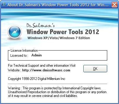 Window Power Tools 2012.7.11.0