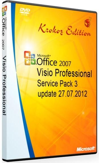 Microsoft Office Visio Professional 2007 SP3 Integrated