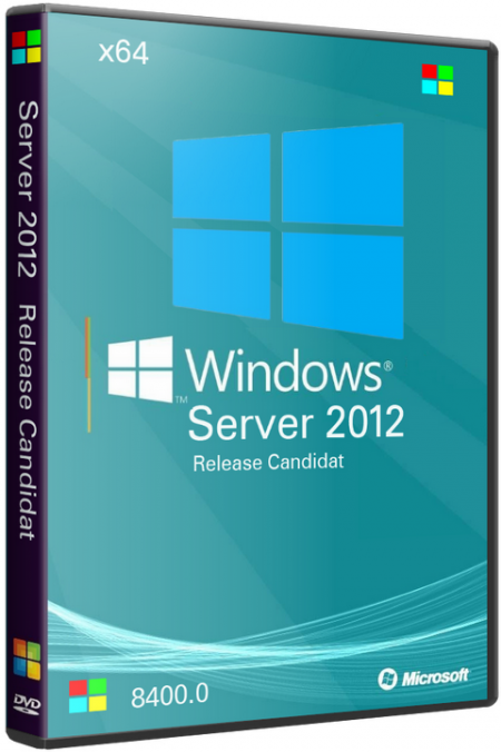 Windows Server 2012 Release Candidate (RC) Datacenter 8400 x64