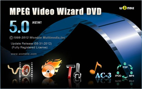 Womble MPEG Video Wizard DVD 5.0.1.110