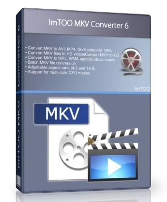 ImTOO MKV Converter 7.5.0 Build 20120822