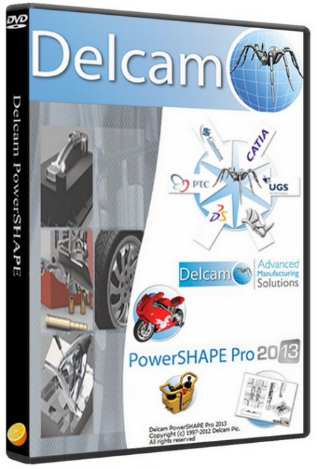 Delcam PowerSHAPE 2013
