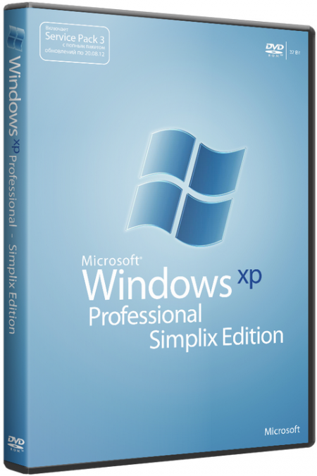 Windows XP Pro SP3 VLK simplix edition 20.02.2013