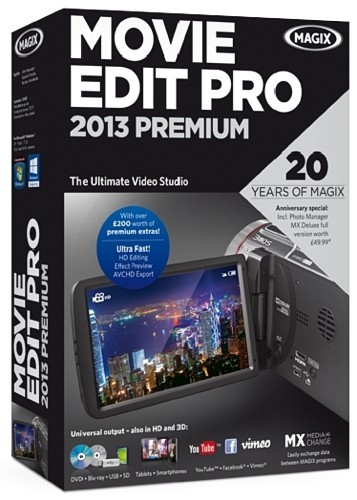 MAGIX Movie Edit Pro 2013 Premium 12.0.1.4