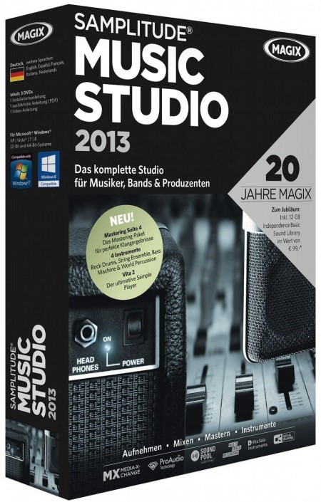 MAGIX Samplitude Music Studio 2013 19.0.1.18