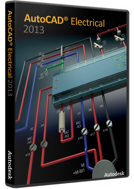 Autodesk AutoCAD Electrical 2013 SP1 AIO by m0nkrus