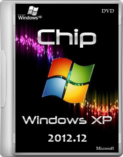 Chip Windows XP 2012.12 DVD