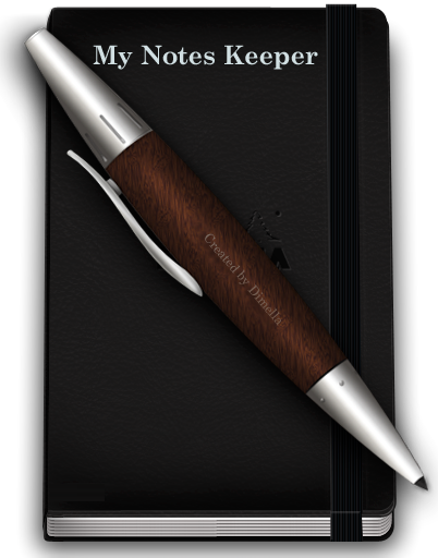 My Notes Keeper 2.8 Build 1434