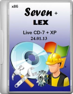 Live CD-7+ XP (Seven + LEX) 24.01.13