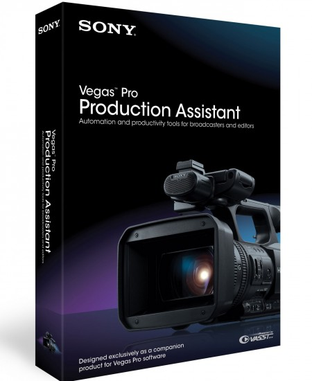 Sony Vegas Pro Production Assistant 2.0.10.28454