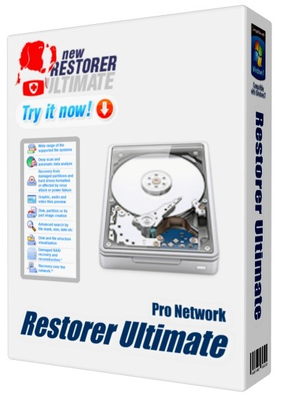 Restorer Ultimate Pro Network 7.8.708689 + Remote Engine