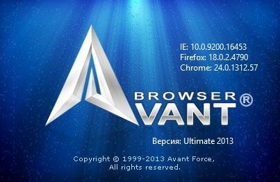 Avant Browser 2013 Build 119 Ultimate