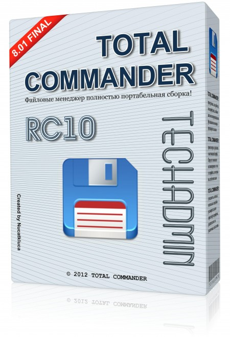 Total Commander 8.01 Final TechAdmin RC10