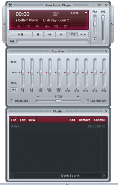 Xion Audio Player 1.5 Build 154