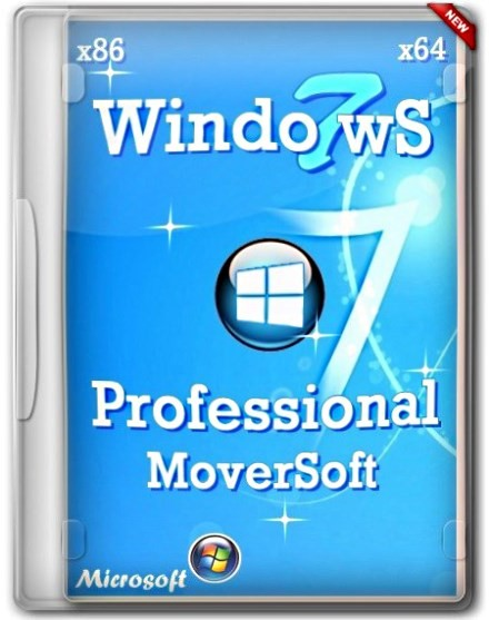 Windows 7 Pro SP1 x86+x64 MoverSoft 06.2013