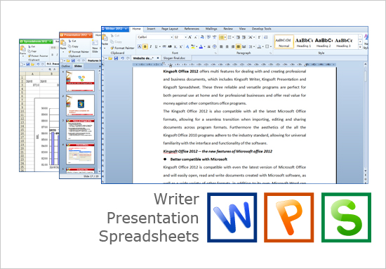 Kingsoft Office Suite Professional 2013 9.1.0.4256
