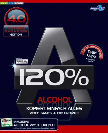 Alcohol 120% Free Edition 2.0.2.5830