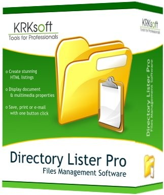 Directory Lister Pro 1.70 Enterprise Edition Multilingual
