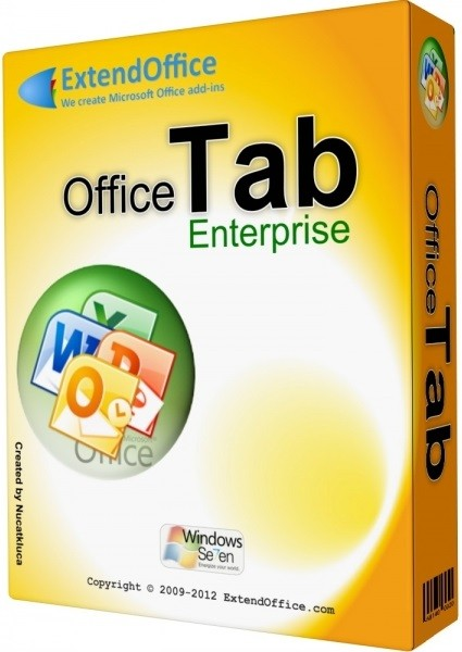 Office Tab Enterprise Edition 9.81