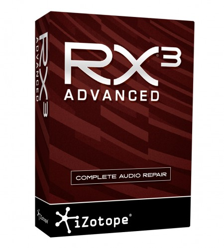iZotope RX 3 Advanced 3.02