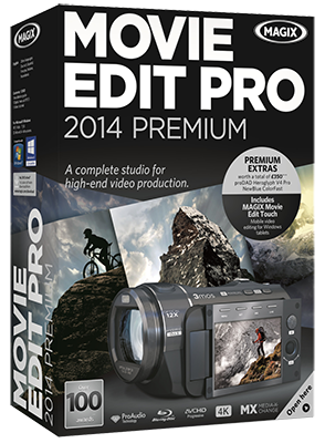MAGIX Movie Edit Pro 2015 Premium 14.0.0.160