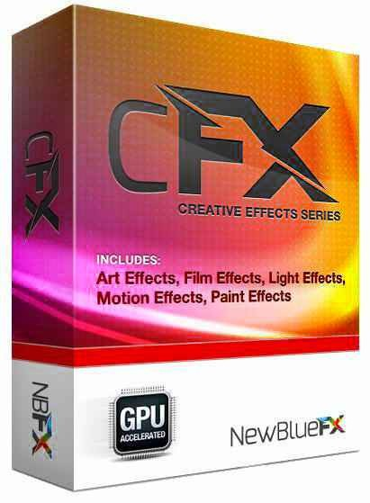 NewBlue cFX Creative Effects Series 3.0 Build 140210