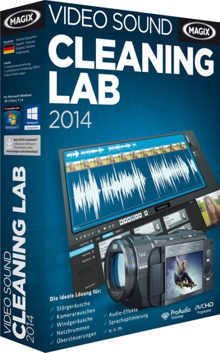 MAGIX Video Sound Cleaning Lab 2014 20.0.0.14