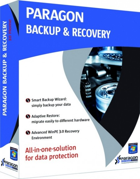 Paragon Backup and Recovery 14 Compact 10.1.21.287
