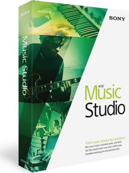 ACID Music Studio 10.0 Build 108