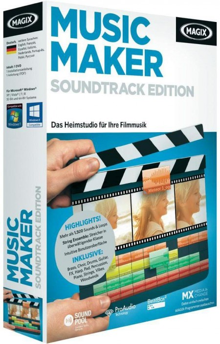 MAGIX Music Maker Soundtrack Edition 19.0.7.61