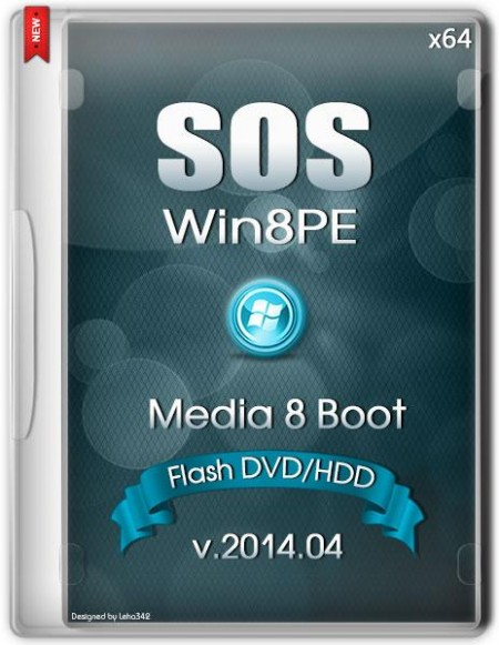 SOS64 Media 8 Boot Flash DVD HDD 2014.04
